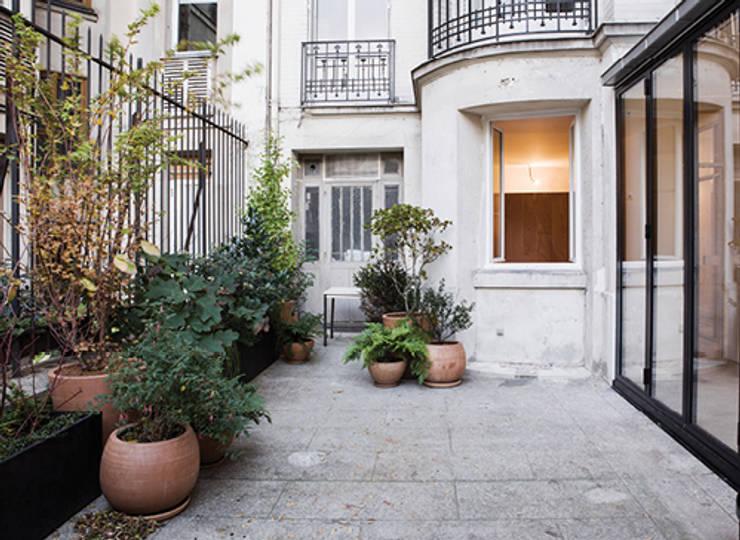 CLENI - Appartement et extension sur cour:  de style  par félix mulle architecte dplg