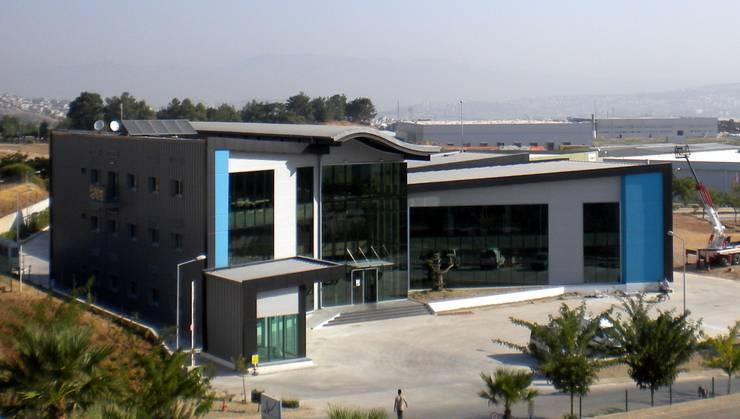 Etüd Mimarlık Müşavirlik İnş. San. Tic. Ltd. Şti.  – Akzo Nobel 1. İdari Bina ve Hammadde Ambari:  tarz Ofisler ve Mağazalar