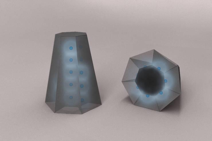 Argos et Io: Salle de bain de style  par Gwenaël Prost