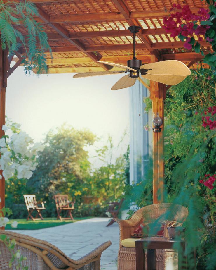 CASA BRUNO Islander ventilador de techo, marrón óxido, ISD7C: Hogar de estilo  de Casa Bruno American Home Decor