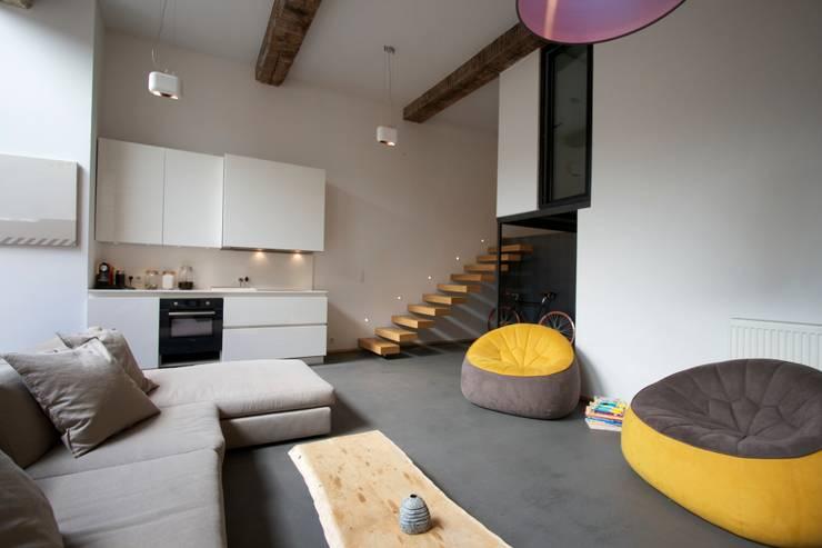 Salas de estilo  por New Home Agency
