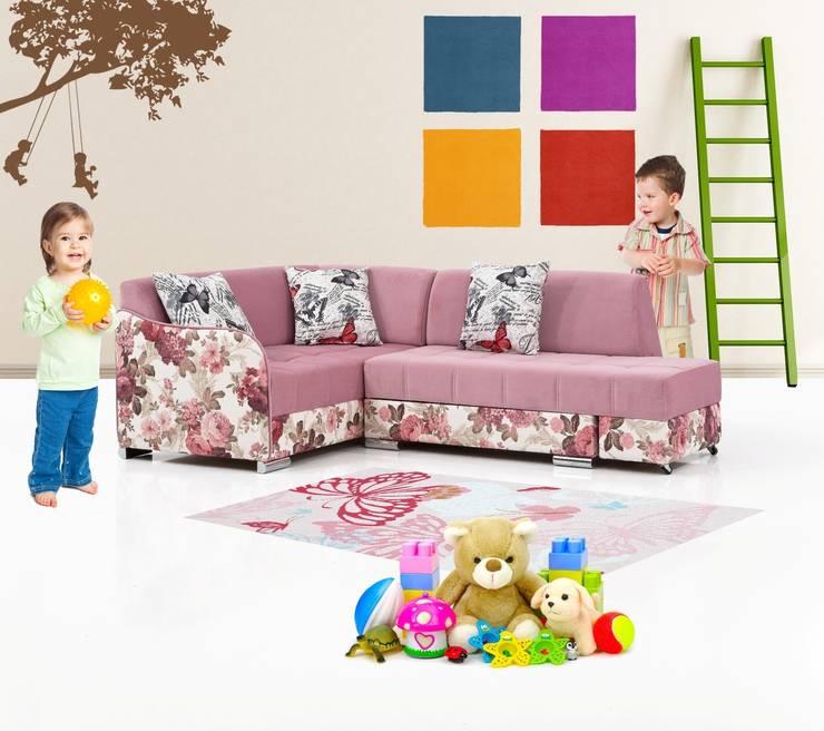 iBRDESIGN – Çocuk odası köşe koltuk: modern tarz Çocuk Odası