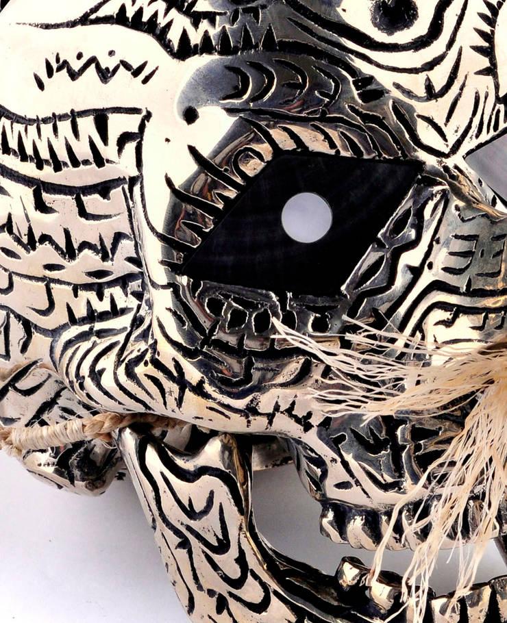 Dennis Nona, <q>Byerb Ibaik</q>: Art de style  par Galerie Arts d'Australie • Stéphane Jacob