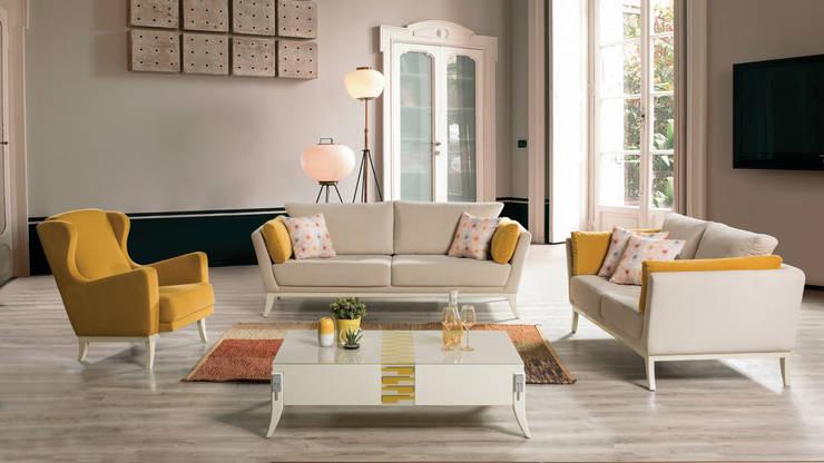 NILL'S FURNITURE DESIGN – LIVING ROOM:  tarz Oturma Odası,