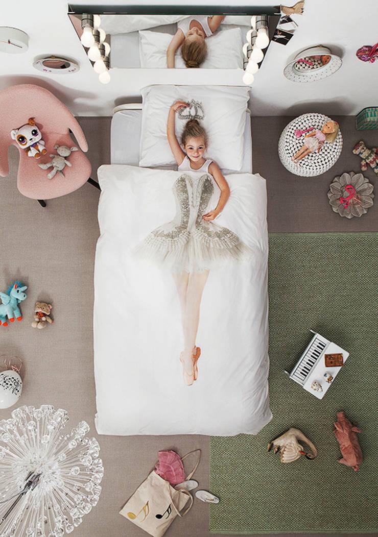 SNURK Children's Ballerina Duvet Bedding Set:  Nursery/kid's room by Cuckooland