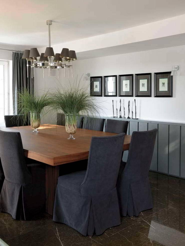 HANDE KOKSAL INTERIORS – House E – E Evi: modern tarz Yemek Odası