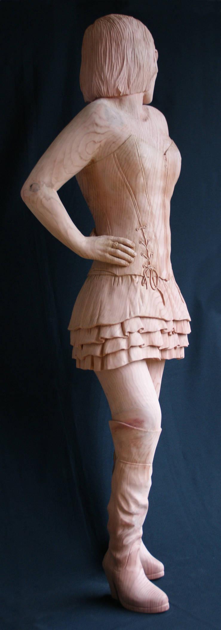 madame: Art de style  par Dixneuf Sculpture 'Le Chant du Chêne'