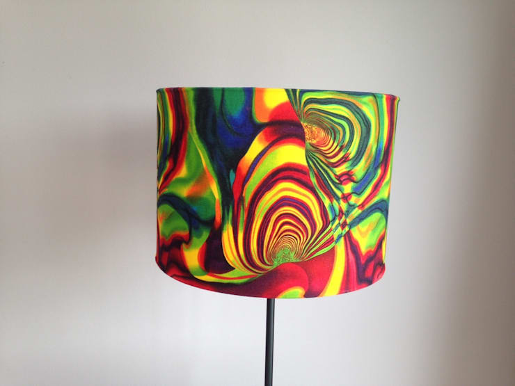 Lampshades:  Living room by Amanda Christie Designs