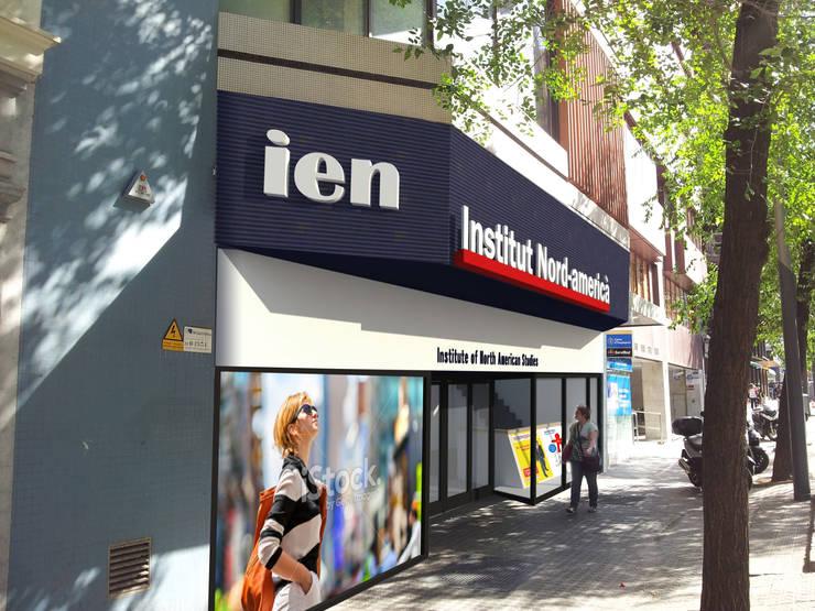 IEN Instituto de Estudios Norteamericano: Oficinas y Tiendas de estilo  de Mariona Soler