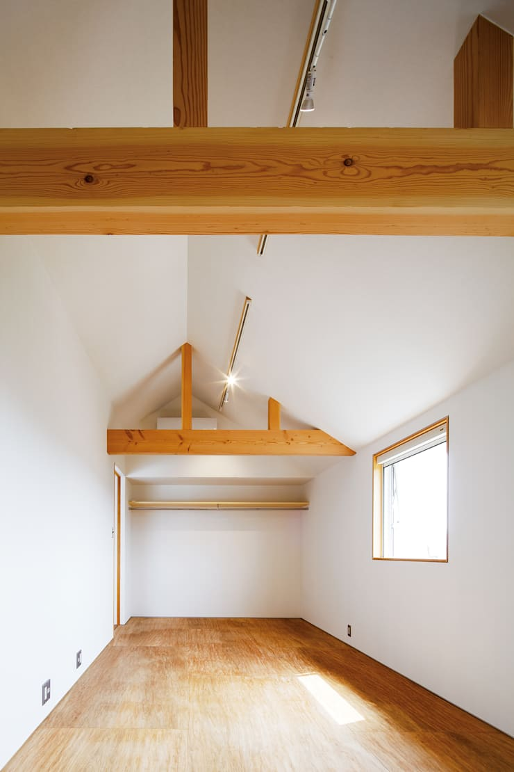 House in Gamagori: caico architect officeが手掛けたです。