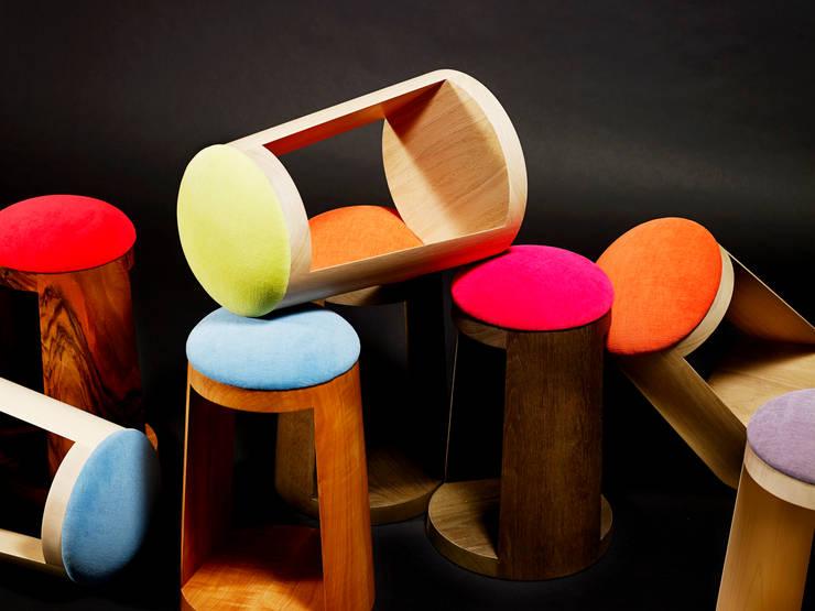 Tabouret <q>POP</q>: Art de style  par Atelier Jerome Dayot