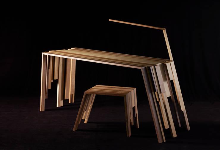 "Bureau ""RECUP"": Art de style  par Atelier Jerome Dayot"