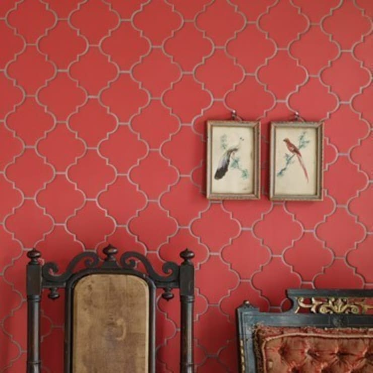 Arabesque:  Living room by Fired Earth