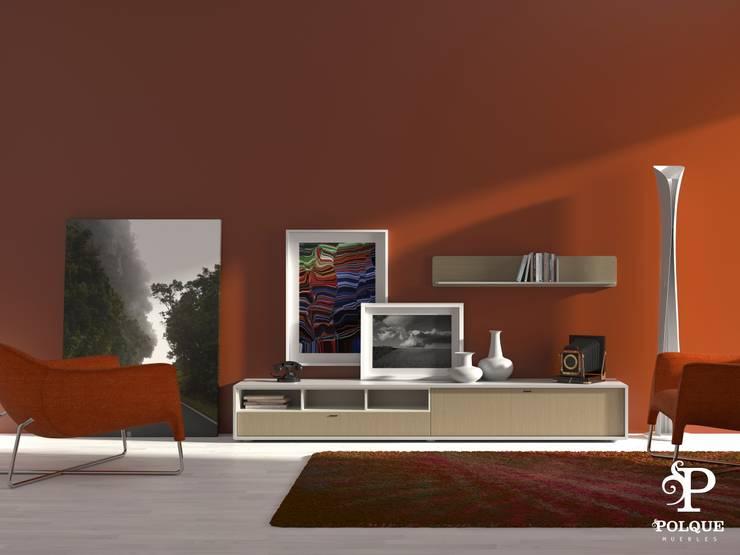 Salón NORDIC 2: Salones de estilo  de Mobiliario y Decoración