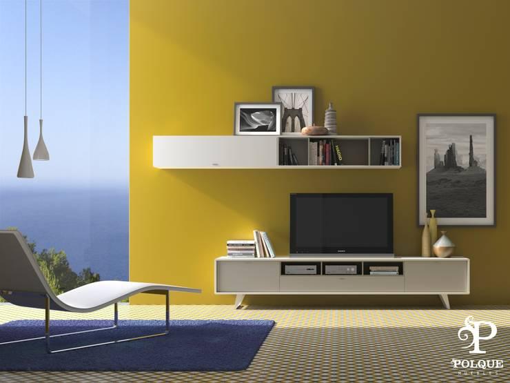 Salón NORDIC 5: Salones de estilo  de Mobiliario y Decoración