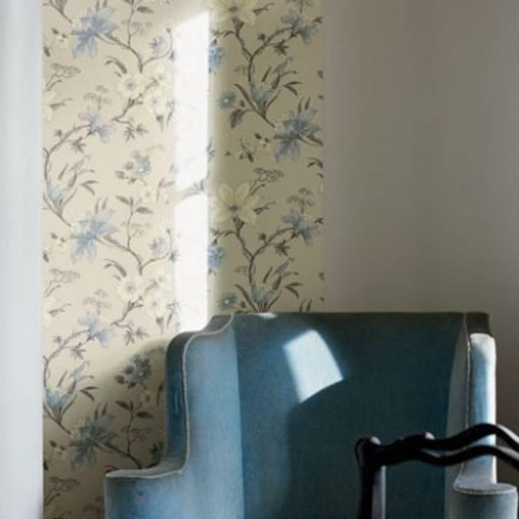 Wallpaper Secret Garden:  Living room by Fired Earth