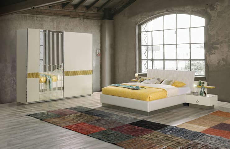 NILL'S FURNITURE DESIGN – Vogue Bedroom:  tarz Yatak Odası