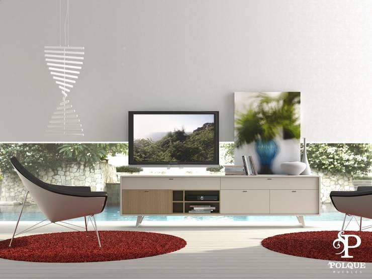 Aparador NORDIC 2: Salones de estilo  de Mobiliario y Decoración