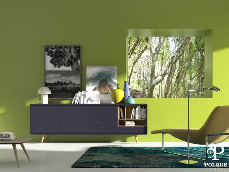 Aparador NORDIC 1: Salones de estilo  de Mobiliario y Decoración