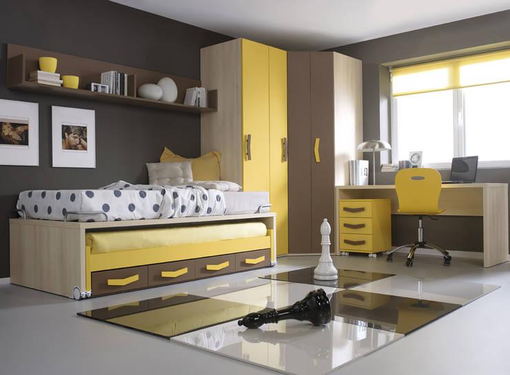Habitaciones infantiles de estilo  por MUEBLES ORTS