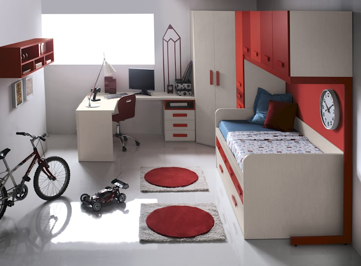 Projekty,  Pokój dziecięcy zaprojektowane przez MUEBLES ORTS