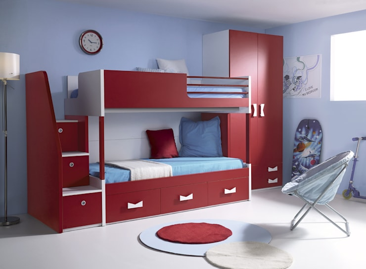 modern Nursery/kid's room by MUEBLES ORTS
