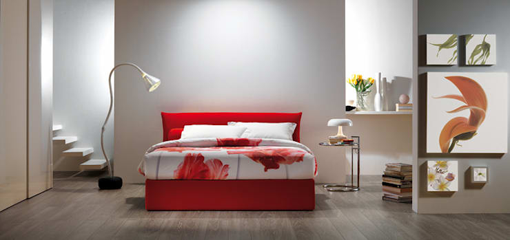 Dormitorios de estilo  por OGGIONI - The Storage Bed Specialist