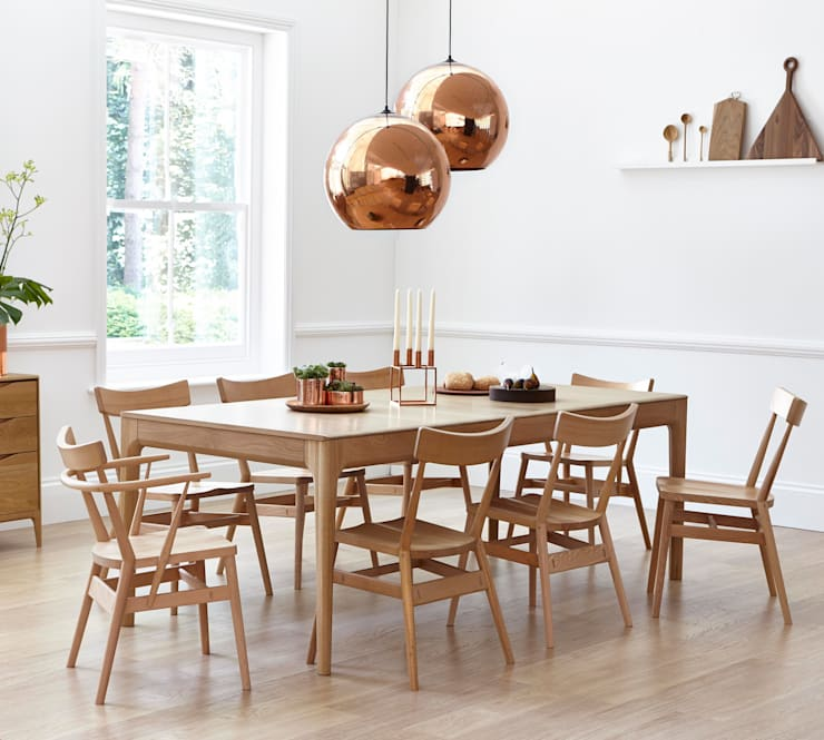 Samples:  Dining room by Ercol