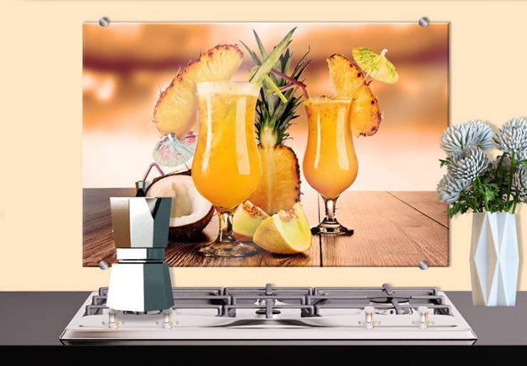Cocinas de estilo ecléctico por K&L Wall Art