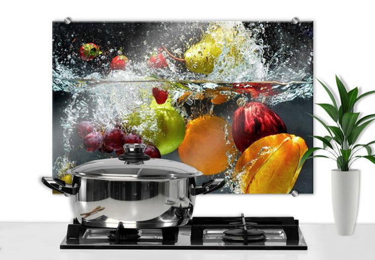 Spritzschutz Erfrischendes Obst:  Küche von K&L Wall Art