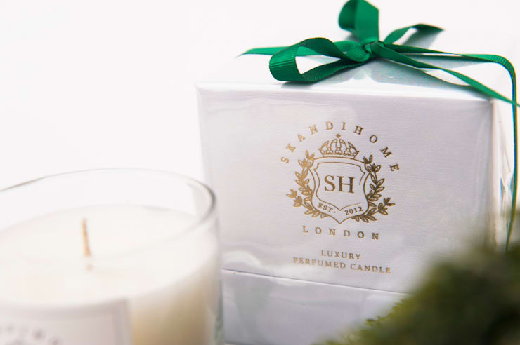 Perfumed Candle:  Household by Skandihome