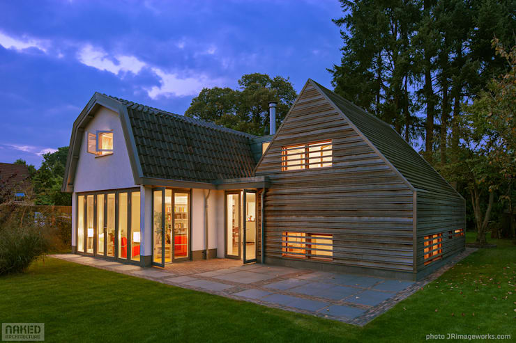 Woonhuis Austerlitz:  Huizen door Naked Architecture