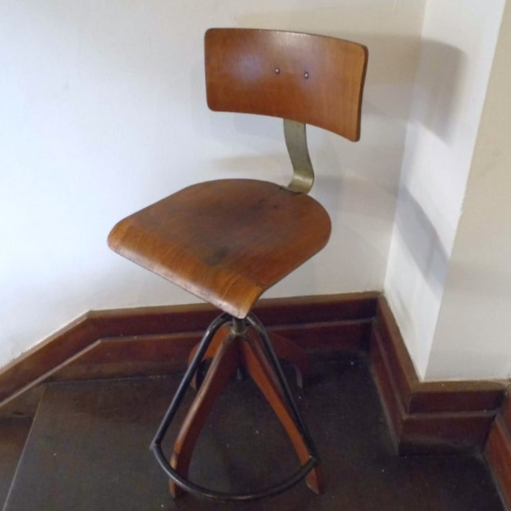 Architects Chair:  Study/office by Travers Antiques