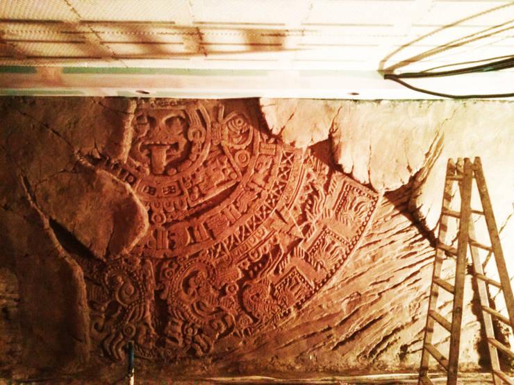 calendario Maya: Spa de estilo  de Overstone