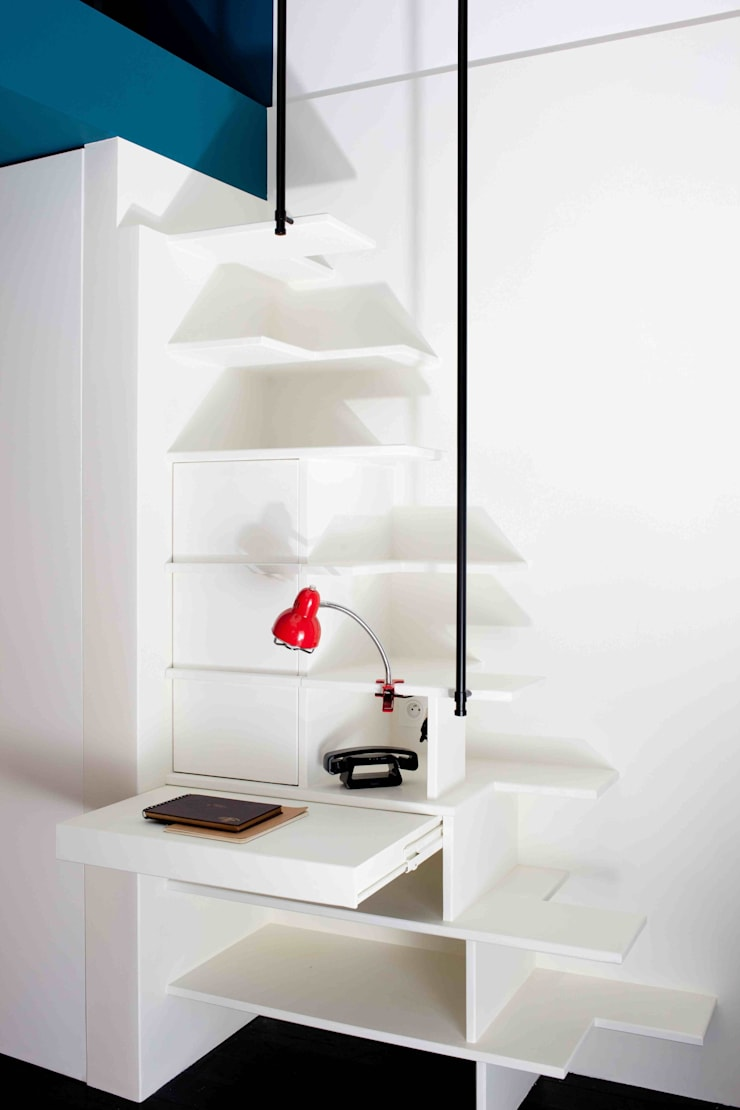 mini appart pour maxi place by estelle griffe homify. Black Bedroom Furniture Sets. Home Design Ideas