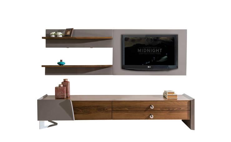 NILL'S FURNITURE DESIGN – Twıst TV Unit:  tarz Oturma Odası