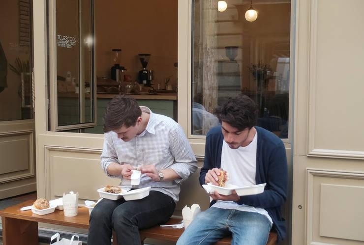 café Télescope: Restaurants de style  par bandapar architecture +++