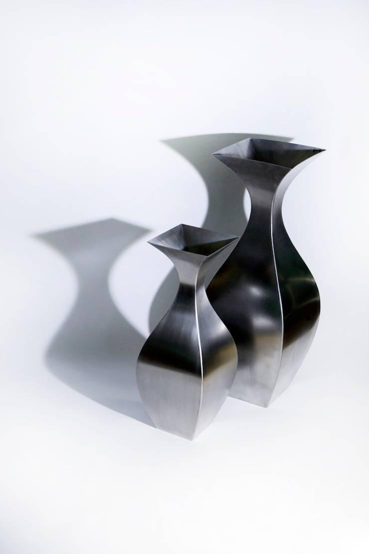 Vase Inoxy Ligne N°2 : Art de style  par De-Design