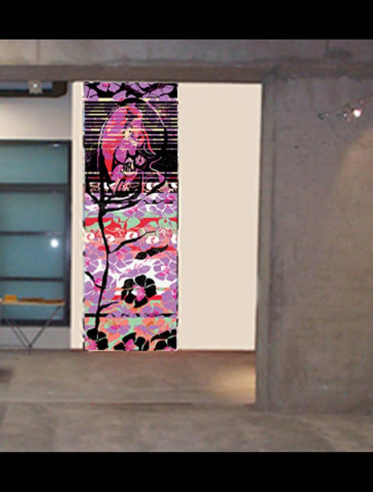 DECORATION ET ACCESSOIRES MURAUX : Murs & Sols de style  par Talva D.