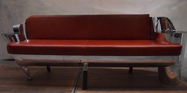 Air Fuel Couch:  Kunst  door Extreme Luxury