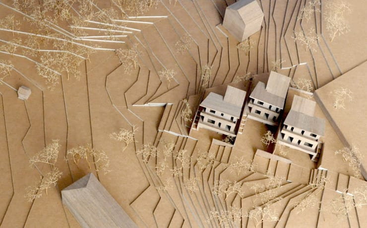 CASE TERRAZZE MONTICELLO:  in stile  di EMMANUELLO   ARCHITETTURA   DESIGN,
