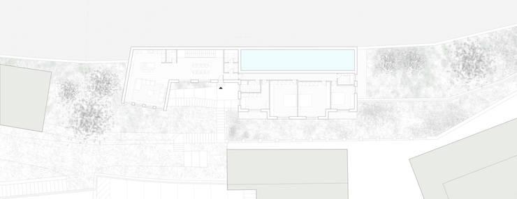 CASA SUL LAGO: Case in stile  di EMMANUELLO   ARCHITETTURA   DESIGN, Moderno