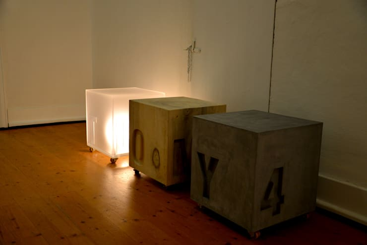 die WÜRFEL:  Wohnzimmer von TYPE A SEAT