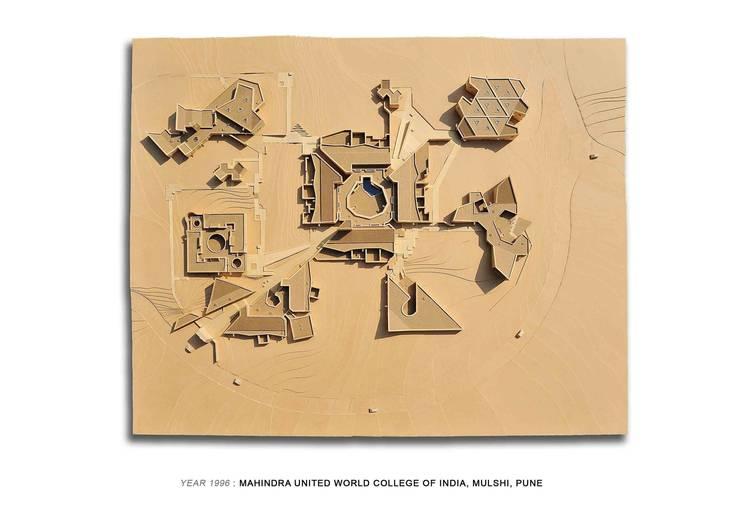 Academic Block Plan View:   by Christopher Charles Benninger Architects Pvt. Ltd.