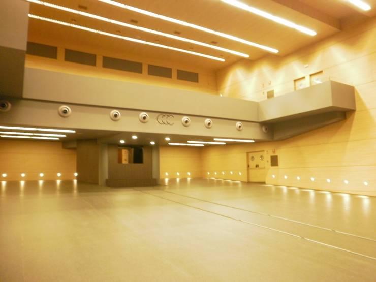 Antes: zona de auditorio:  de estilo  de Arquitectos Fin