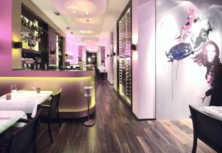 Bond Restaurant, Berlin:  Arbeitszimmer von BERLINRODEO interior concepts GmbH