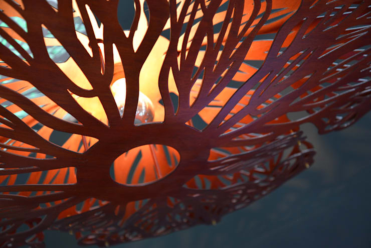 Ceiba Lamp:  de estilo  de System Design Studio