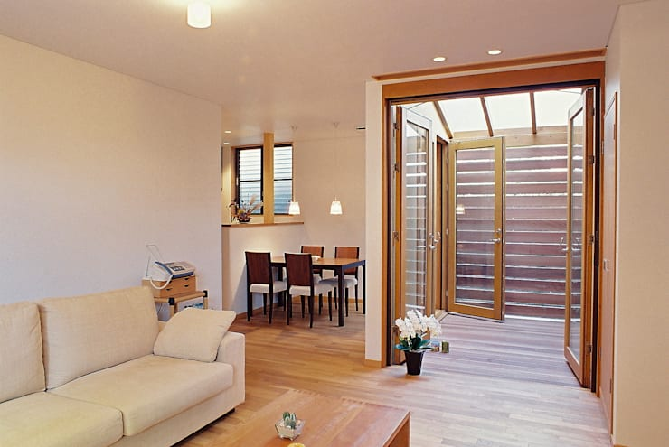 Houses by SOU DESIGN WORKSHOP/想設計工房