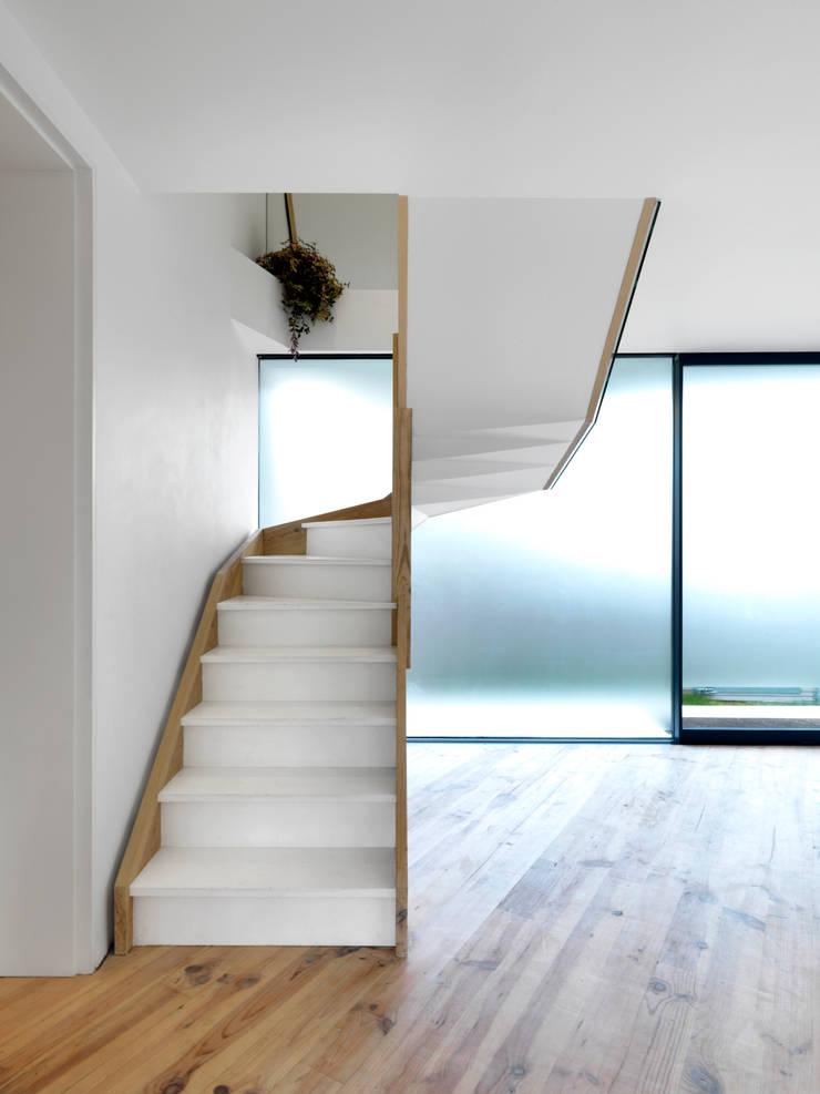 Corridor & hallway by Lipton Plant Architects,