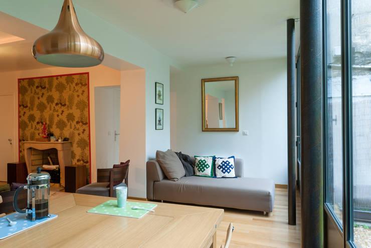 Emmanuel cros architecture extension d 39 une maison parisienne homify - Maison parisienne ...